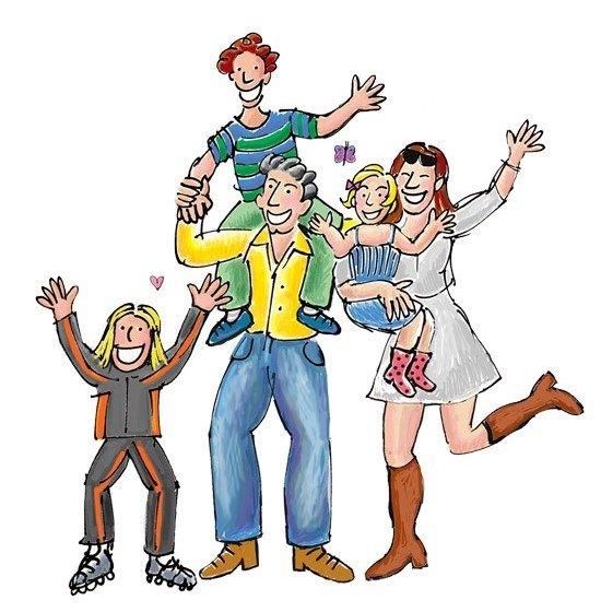 Afbeeldingsresultaat voor huis 3 kinderen cartoon